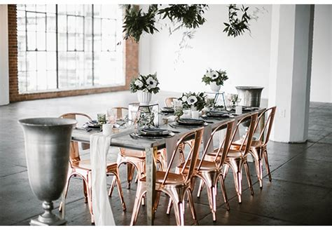 Rose Gold Chair Rentals for Events & Weddings | Archive