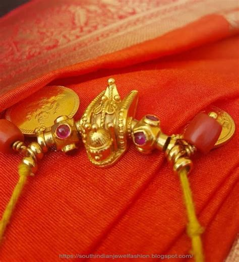 How to decorate Thali dollar - South Indian Mangalyam