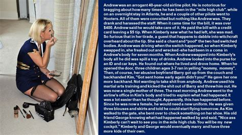 THE MILE HIGH CLUB!! - TG Transformation Stories