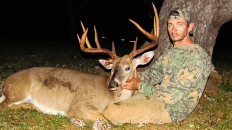 150-inch Surry County buck goes down with a headshot from
