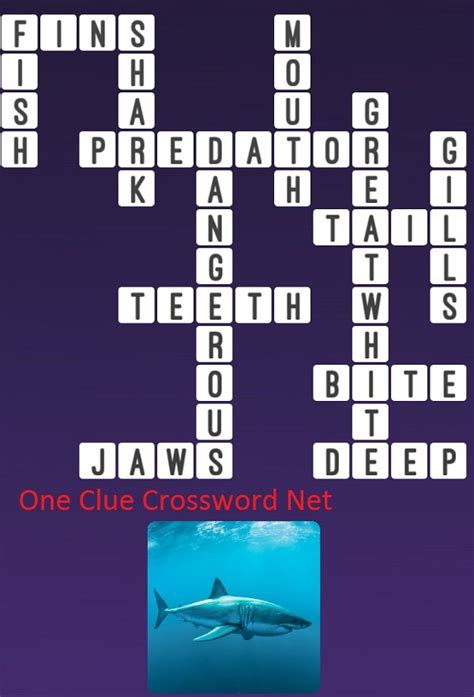 Shark - Get Answers for One Clue Crossword Now