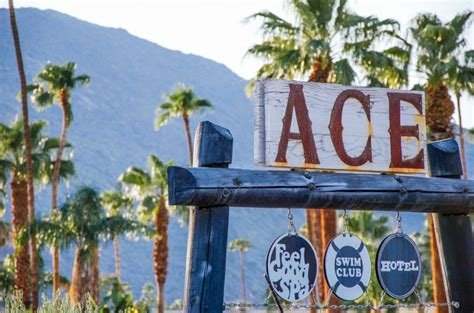 Escape to the Ace Hotel in Palm Springs