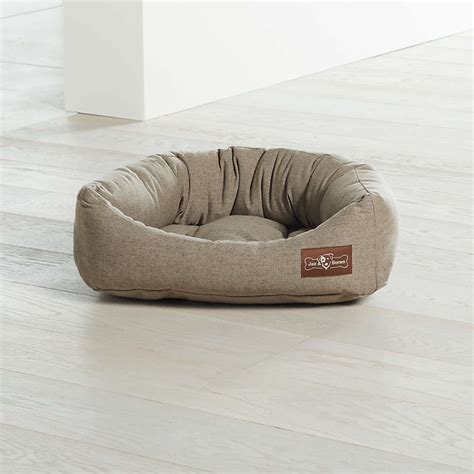 Napper Groundhog Small Dog Bed   Crate and Barrel