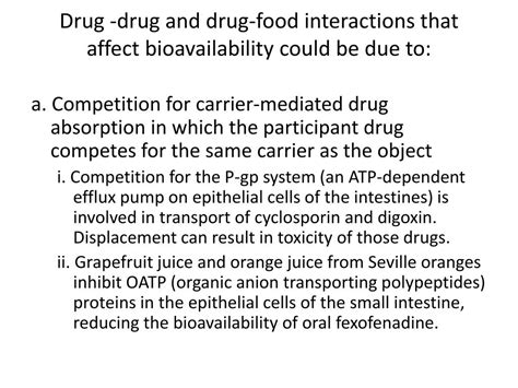 PPT - Types of drug interactions PowerPoint Presentation
