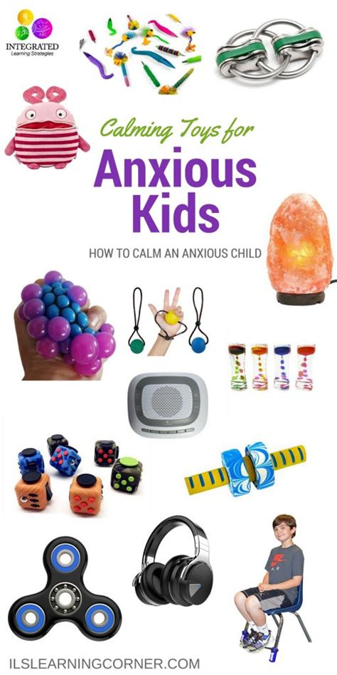 Anxious Child: Toys for Anxious Children, Self-Regulation