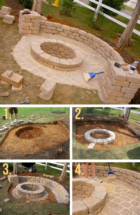 50 DIY Fire Pit Design Ideas, Bright the Dark and Fire the