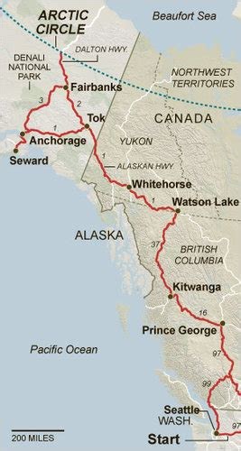Driving From Seattle to the Arctic Circle - The New York Times