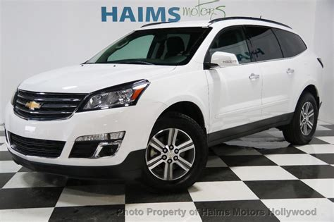 2017 Used Chevrolet Traverse FWD 4dr LT w/1LT at Haims