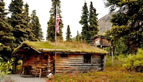 The Story Behind This Simple Cabin In Alaska Is One You