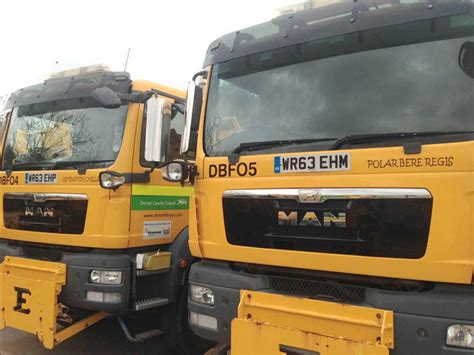 Dorset gritters named by residents - LymeOnline