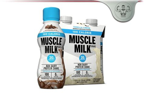 Muscle Milk 100 Calorie Protein Shake Review - Real
