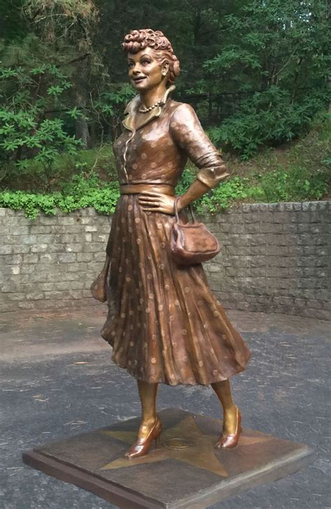 'Scary' Lucille Ball Hometown Statue Finally Gets a