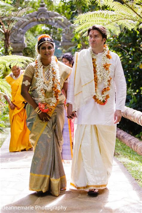 Lihue, HI South Indian Fusion Wedding by Jeannemarie