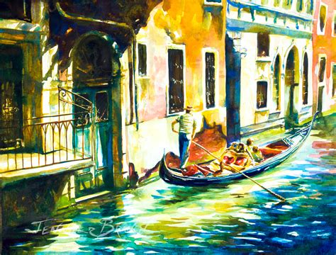 Italy Watercolor Paintings Gallery
