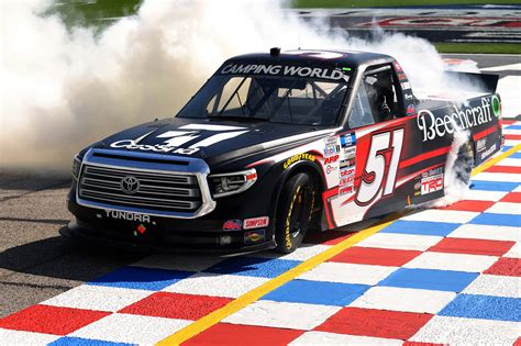 Kyle Busch dominates in NASCAR Truck Series race at