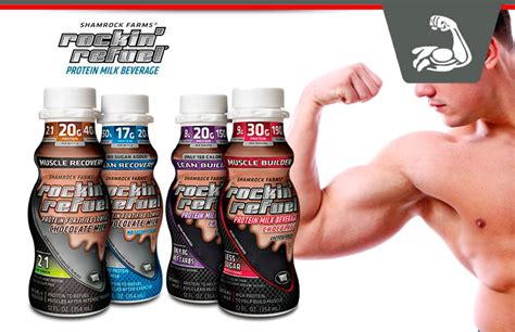 Rockin Refuel Review - Healthy Protein Milk Beverages For