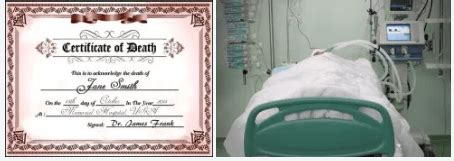 Strange! Hospital issued death certificate to man whose